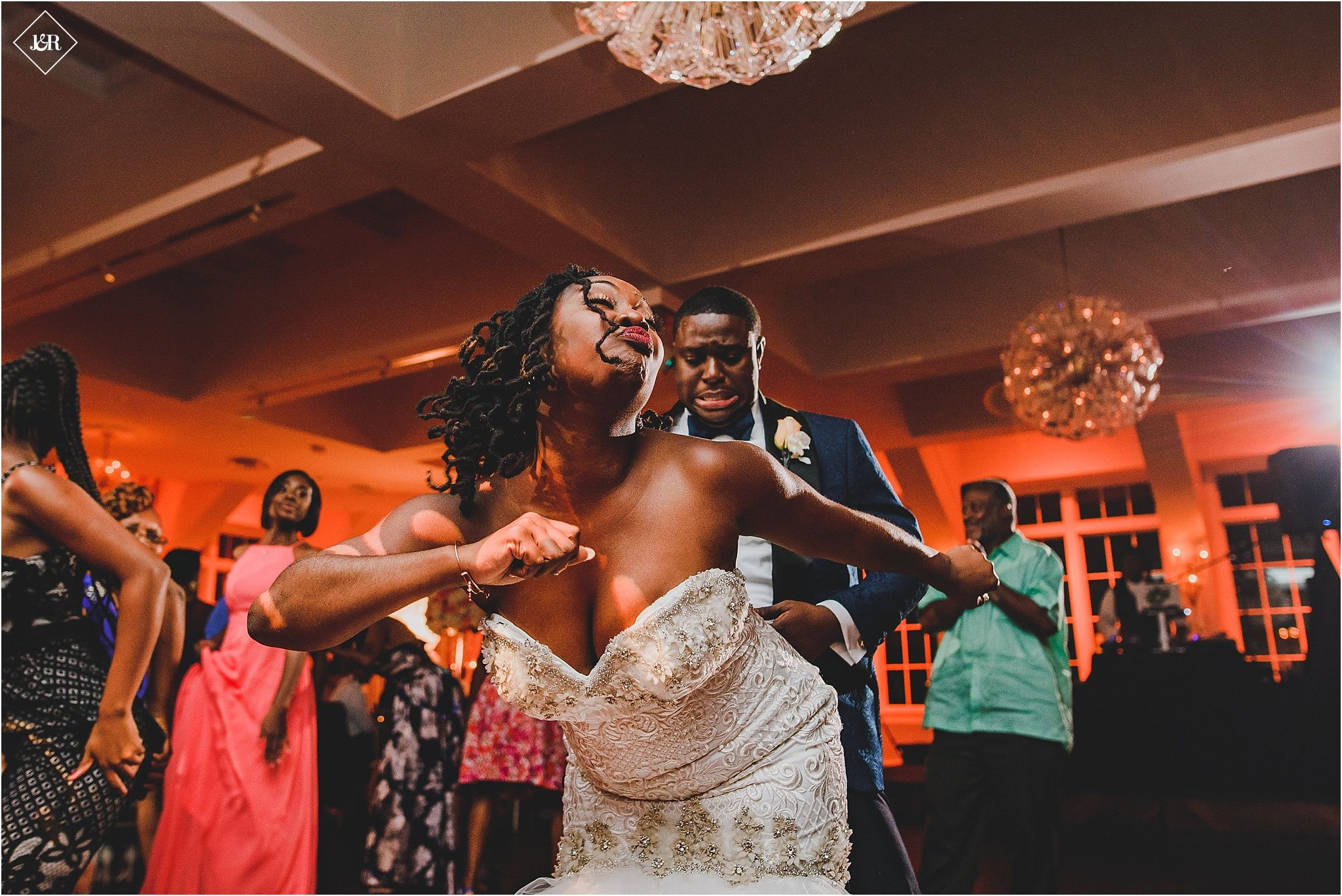 Heritage Club at Bethpage Wedding Wedding reception