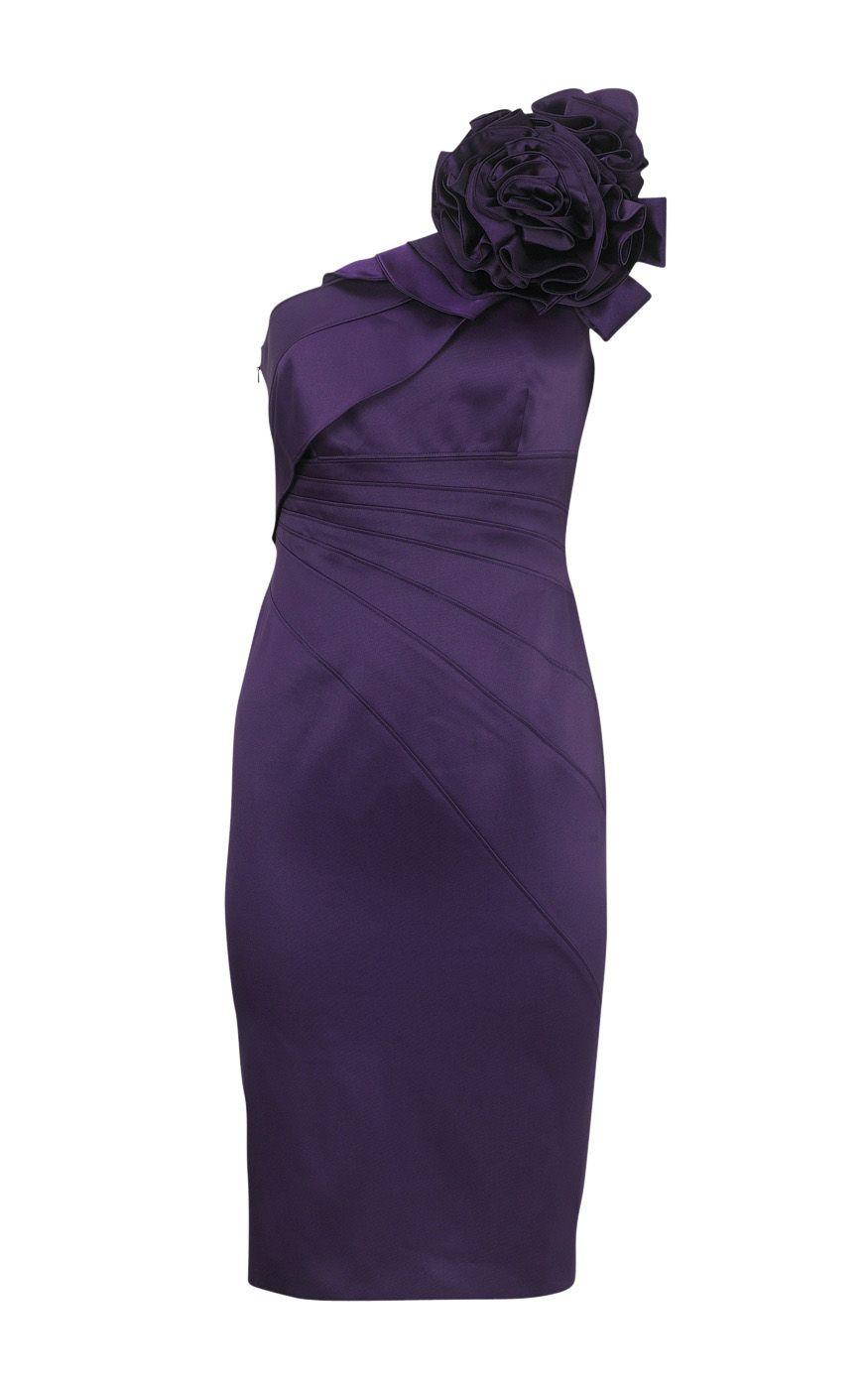 Sexy Purple Bridesmaid Dress | My sisters wedding | Pinterest