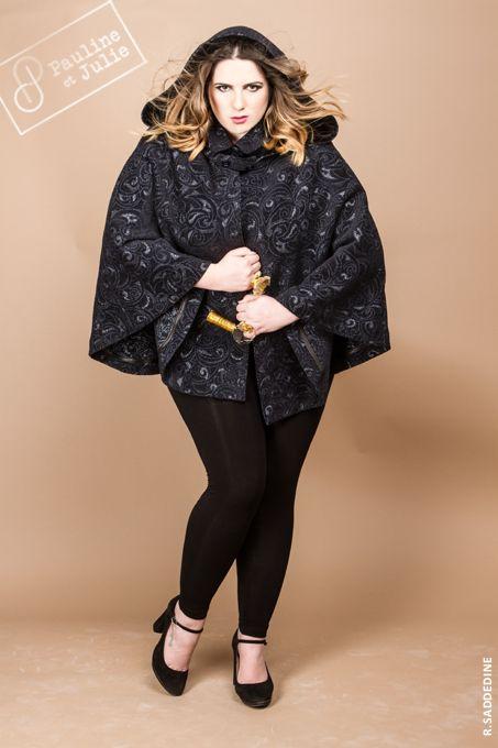 La Mode, les femmes rondes,Pauline et Julie, Vêtement créateur grande taille  du 36 au 54  COLLECTION AUTOMNE HIVER 2013 2014 - FW13 14 673ee7ba5a4f