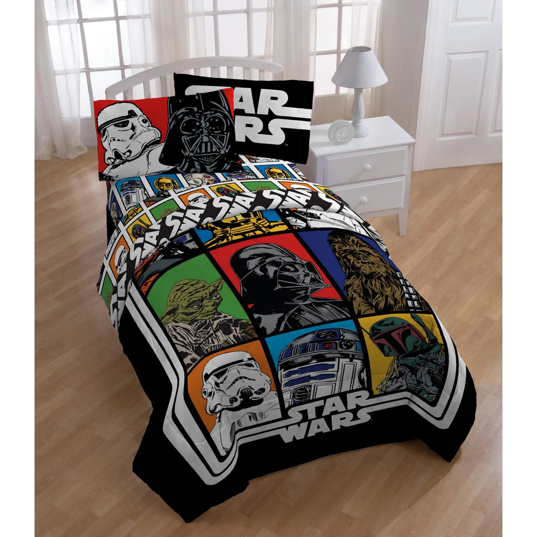 Star Wars Classic Reversible Comforter By Star Wars Jf26970