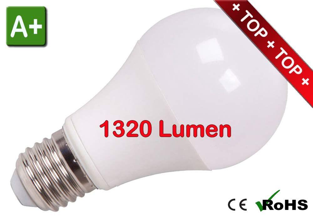 LED E27 Leuchtmittel 12W 230V neutralweiss 1320 Lumen, dimmbar | LED ...