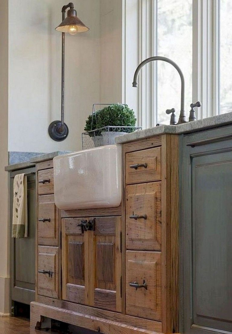 Contemporary Kitchen Design Ideas Right Below Are 26 Small As Well As Efficient Ki Farmhouse Style Kitchen Cabinets Farmhouse Sink Kitchen Kitchen Sink Decor