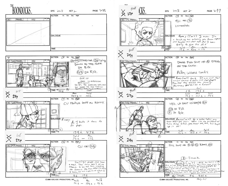 Story Board Illustrations