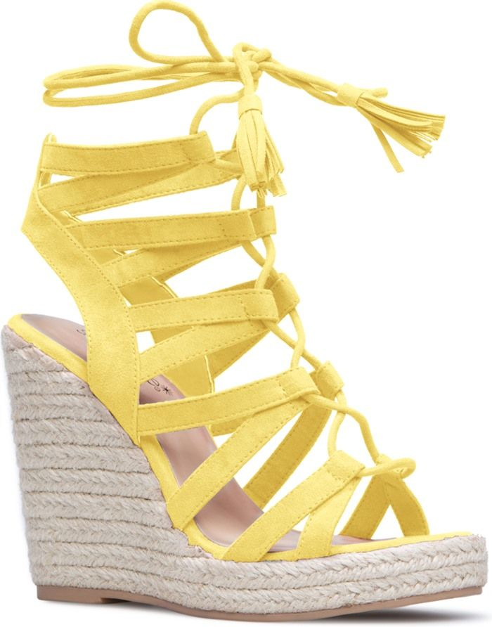 218ad4a2ca8 Lace-Up 'Anabella' Espadrilles With Tassels | Women's Celebrity ...
