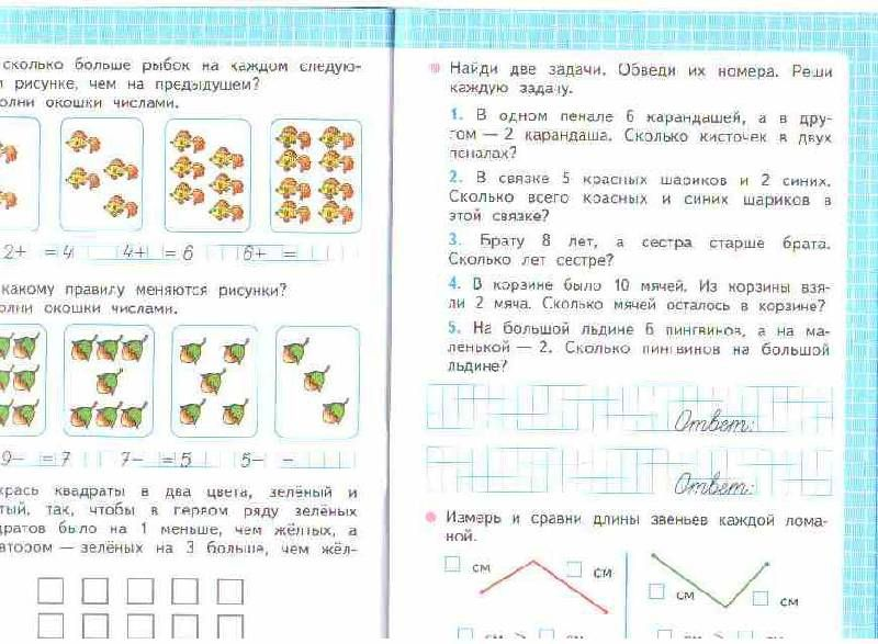 Тематическое планирование математика 4 класс школа