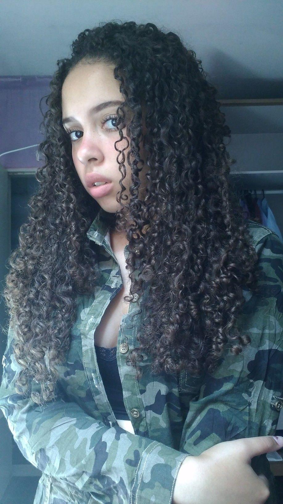 tumblr girl, curly hair instagram: @camilagadel | hαírr