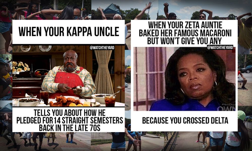 Black Fraternity Sorority Jokes These 4thofjulywithdivine9families Memes Will Have You Rolling On The Floor Black Fraternities Fraternity Sorority