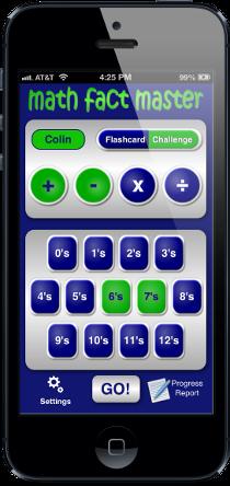 Math Fact Master Math facts, Math apps, Basic math skills
