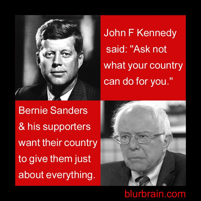 Comparing Bernie Sanders With Jfk Jfk Bernie Sanders Obama Cartoon