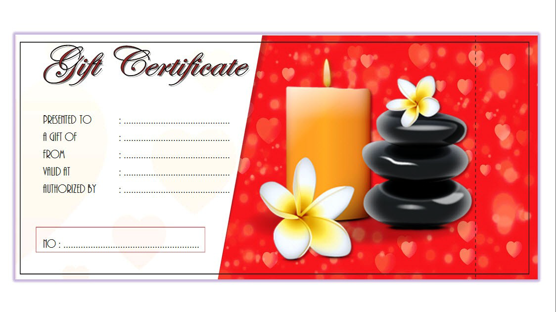 Massage Therapy Gift Certificate Template Free 3 Free Gift Certificate Template Massage Gift Certificate Massage Gift