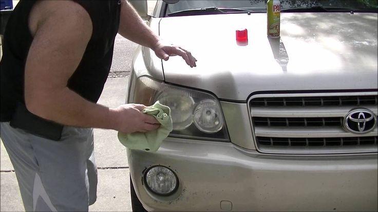 how to clean foggy headlights inside