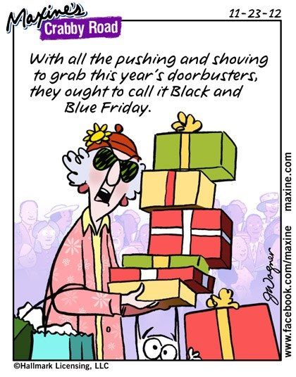 Maxine on Christmas shopping | Maxine | Pinterest | Funny, Christmas ...