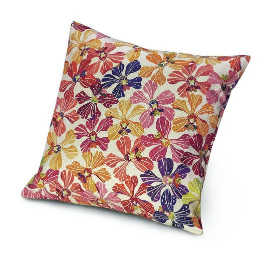 Missoni Home Meketewa Cotton Throw Pillow Modern Throw Pillows