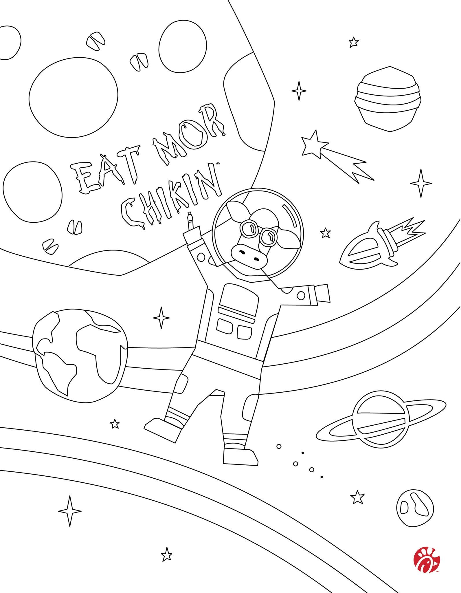 At-home activity for kids: Download and print coloring