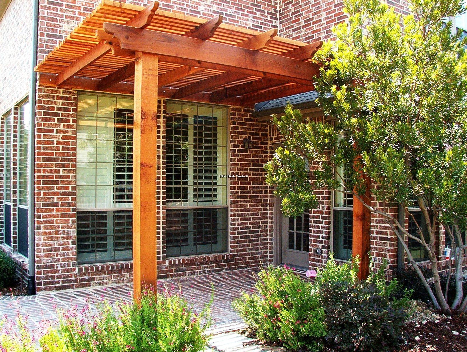 Terrific Arbor Patio Terrific Dallas Cedar Arbor Redwood Patio