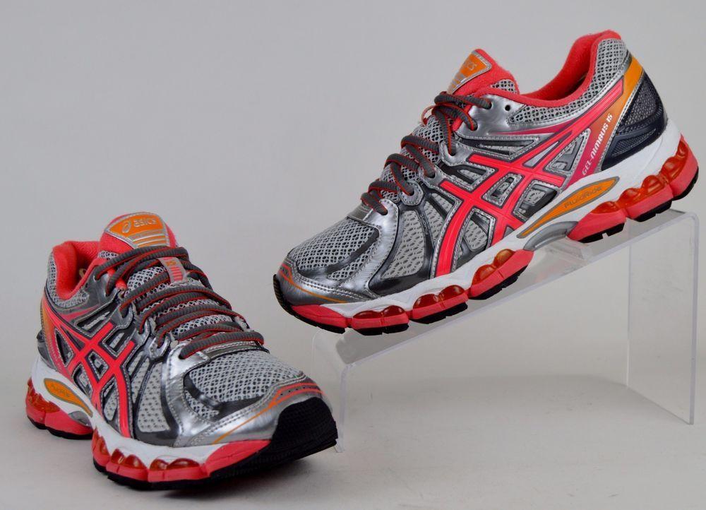 Chaussures de course 8 Asics Nimbus Gel Nimbus 15 pour femme, course taille 8 M, gris argenté 945289a - njyc.info