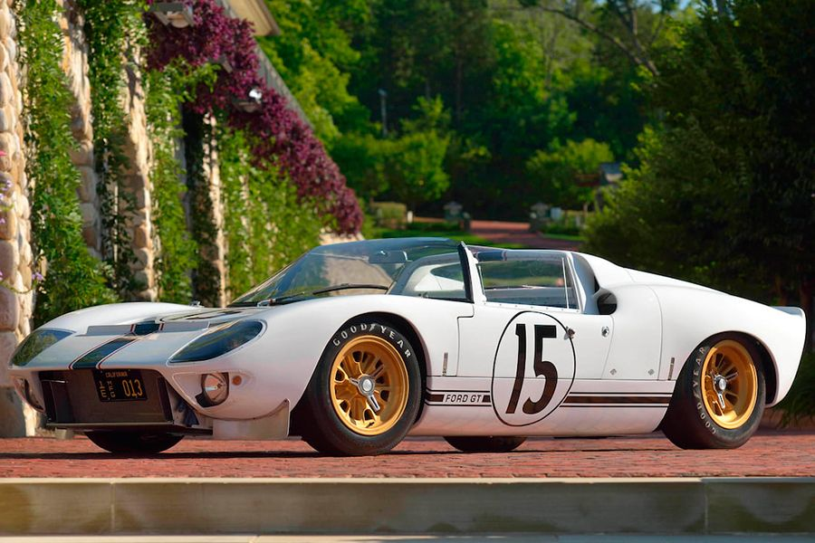 1965 Ford Gt Competition Prototype Roadster Set The Tone For Ford Racing Ford Gt Ford Racing