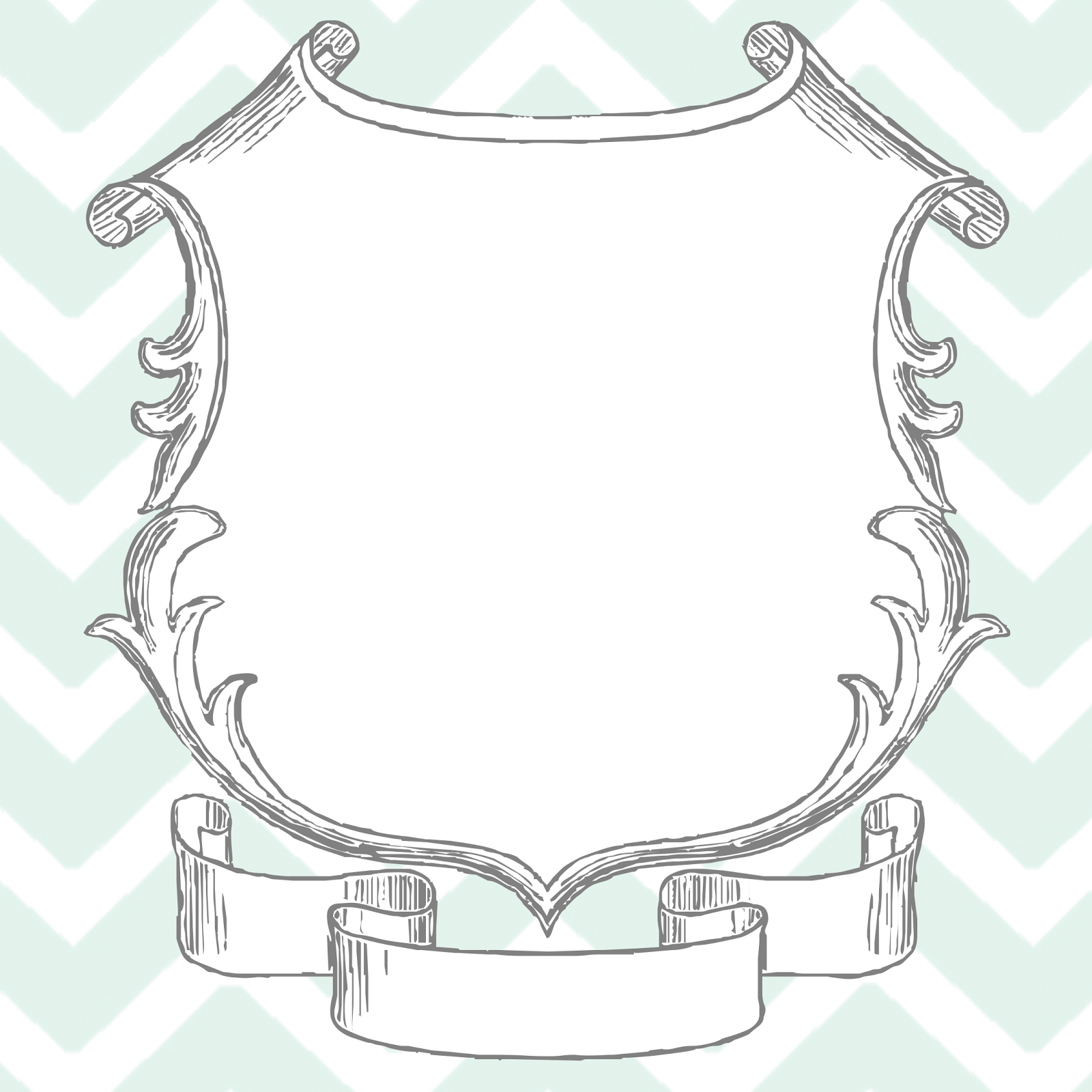 Free photoshop mint chevron sketch frame template for cards invite free photoshop mint chevron sketch frame template for cards invite or announcements jeuxipadfo Images