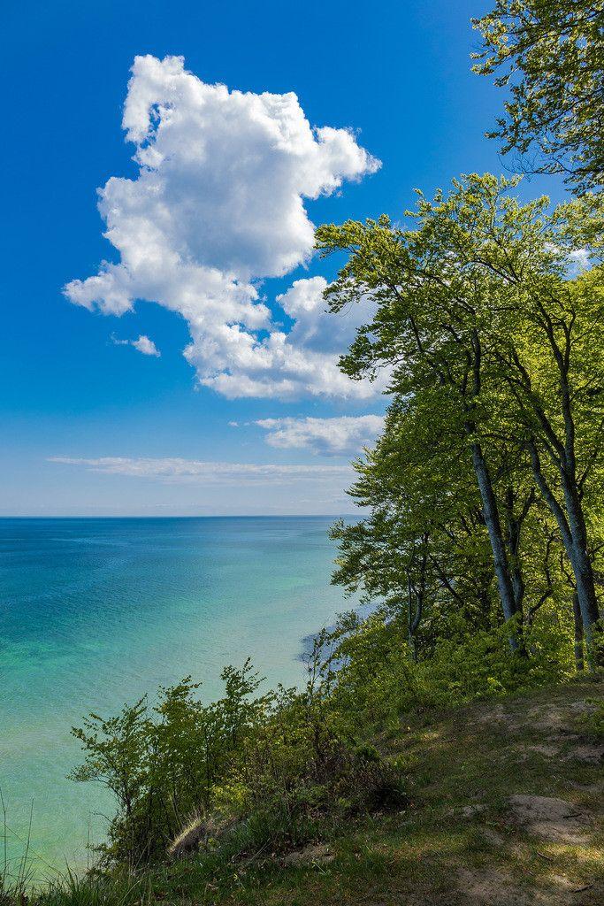 An der Küste der Ostsee auf der Insel Rügen. Insel rügen
