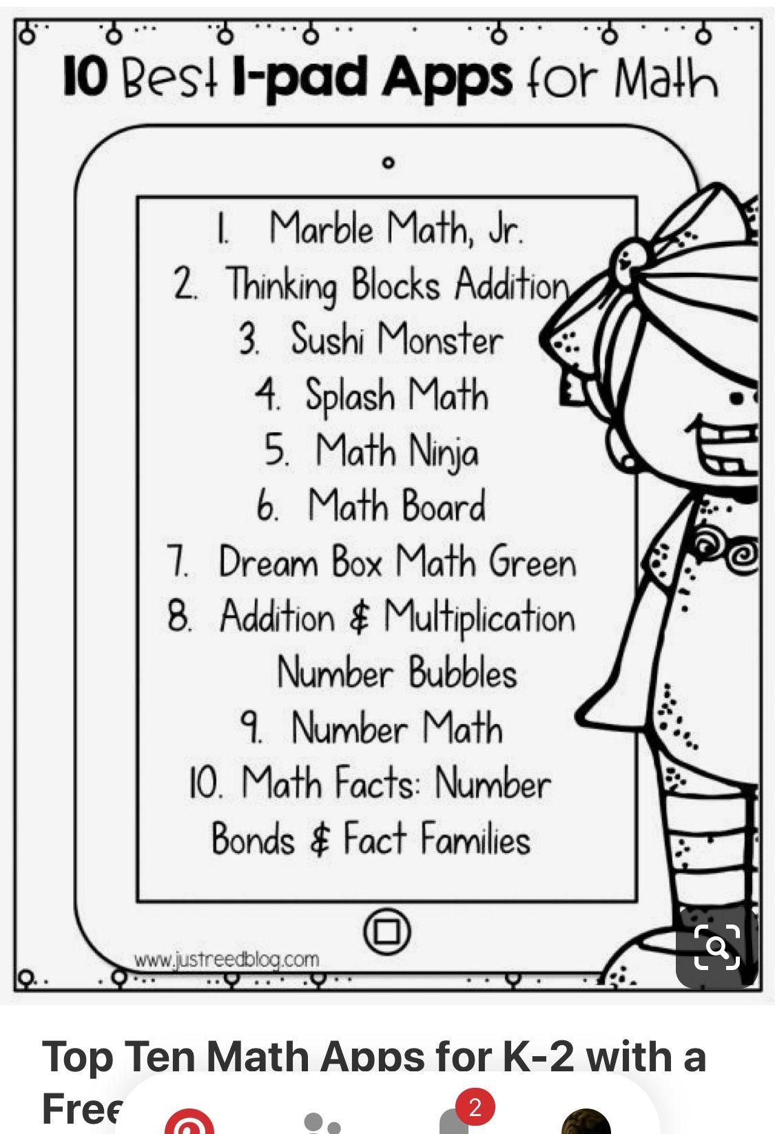 Pin By Gabby Gillenwater On 2nd Grade Math In 2020 Math Apps Homeschool Math Learning Math [ 1646 x 1125 Pixel ]