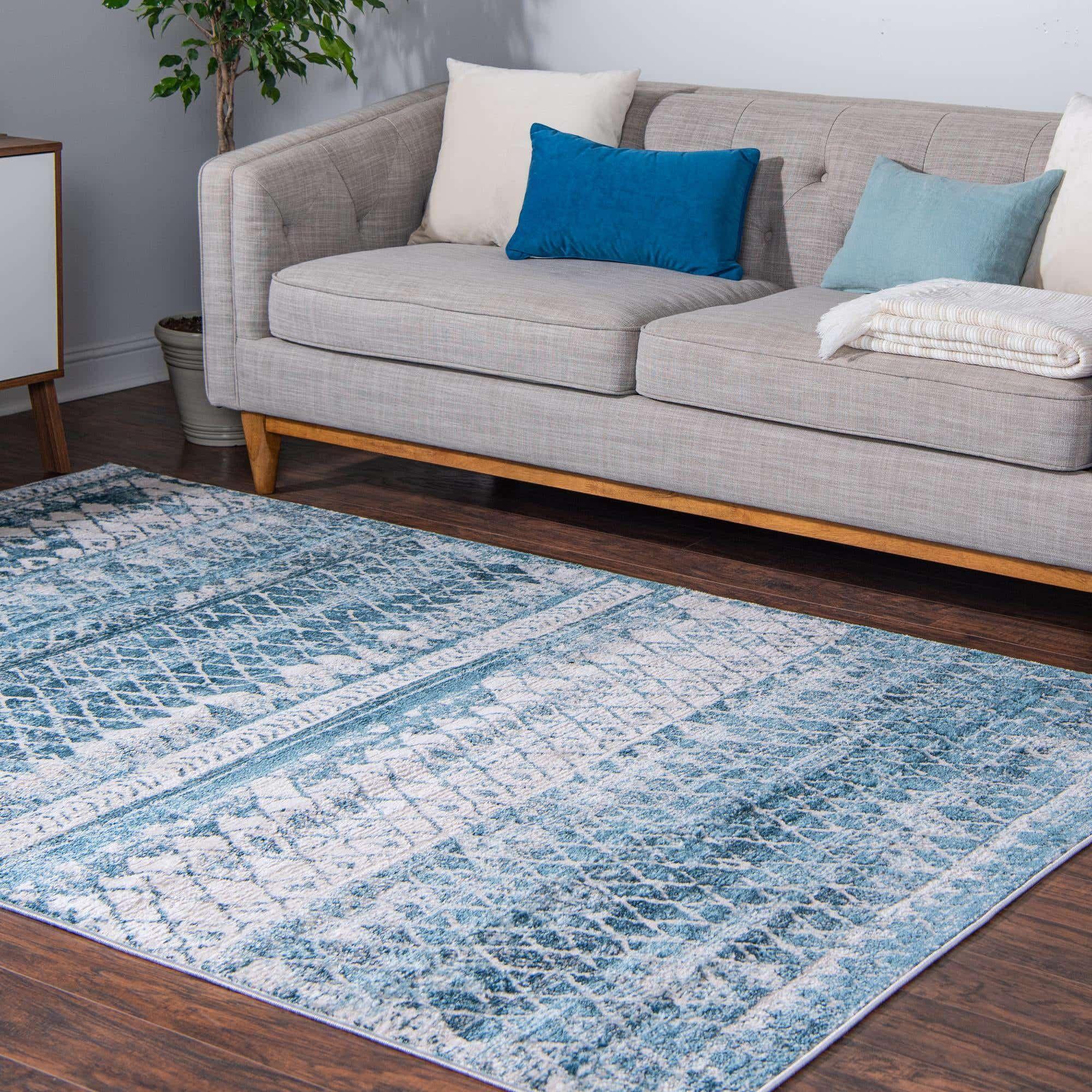 Blue 9 x 12 leipzig rug in 2020 rugs area