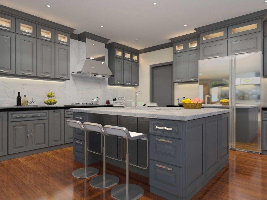 Belmont Gibraltar Gray Cabinets   ProCraft Cabinetry   Pinterest   Gray  Cabinets, Quality Cabinets And Kitchens