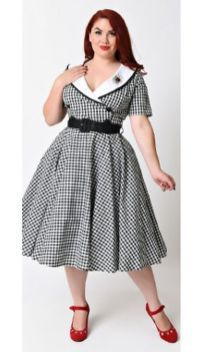 7c0615b8eb3 Vintage plus size rockabilly fashion style outfits ideas 72 ...
