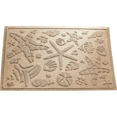Beachcrest Home Anitra Beachcomber Doormat Color: Camel