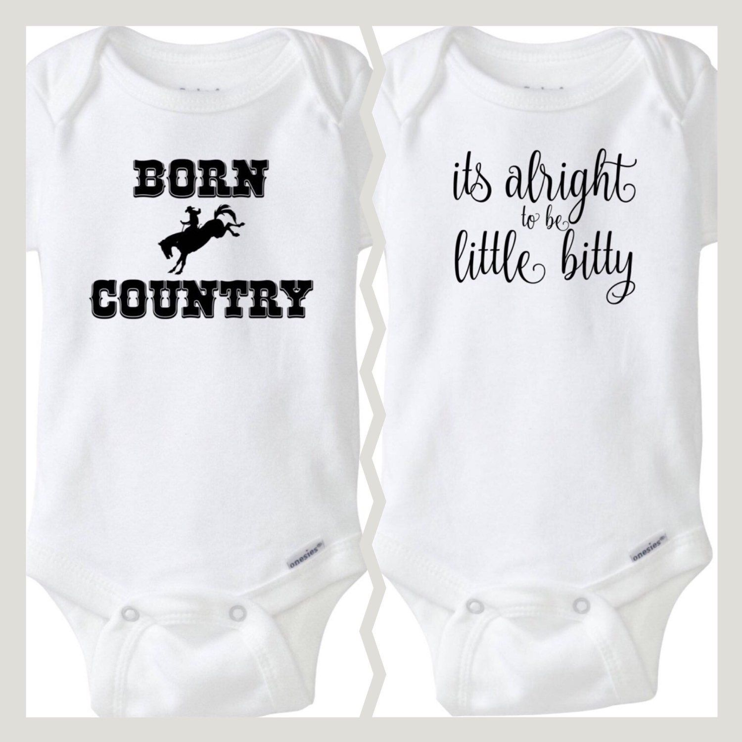 Baby Shower Gift Born Country Baby Boy esies Western Baby