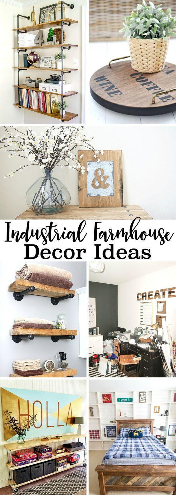 Industrial Farmhouse Decor Ideas Industrial farmhouse decor ideas
