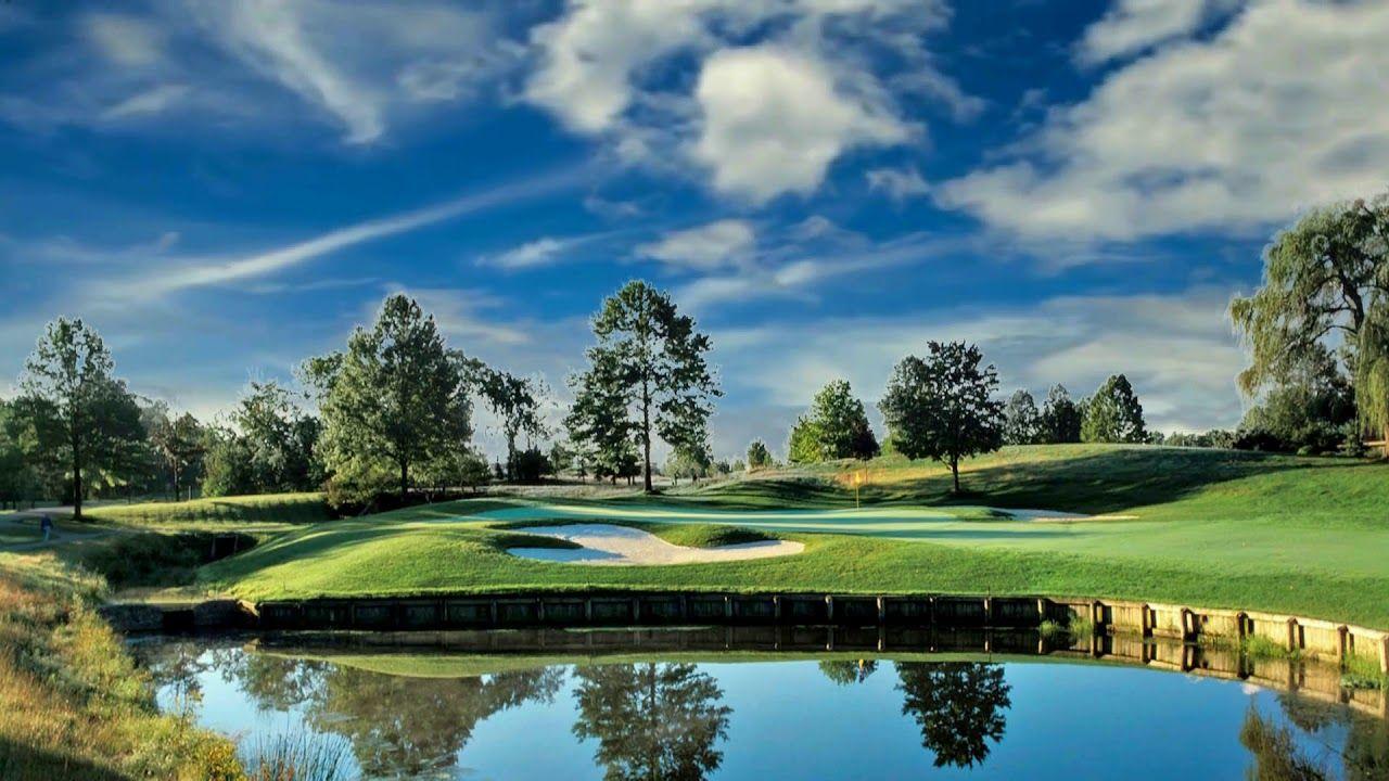 HD 1080p Walden Golf Course Video, Royalty free Landscape