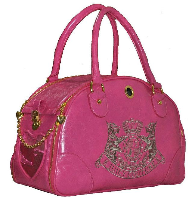 Juicy Couture Pink Dog Carrier  5b14ff917a