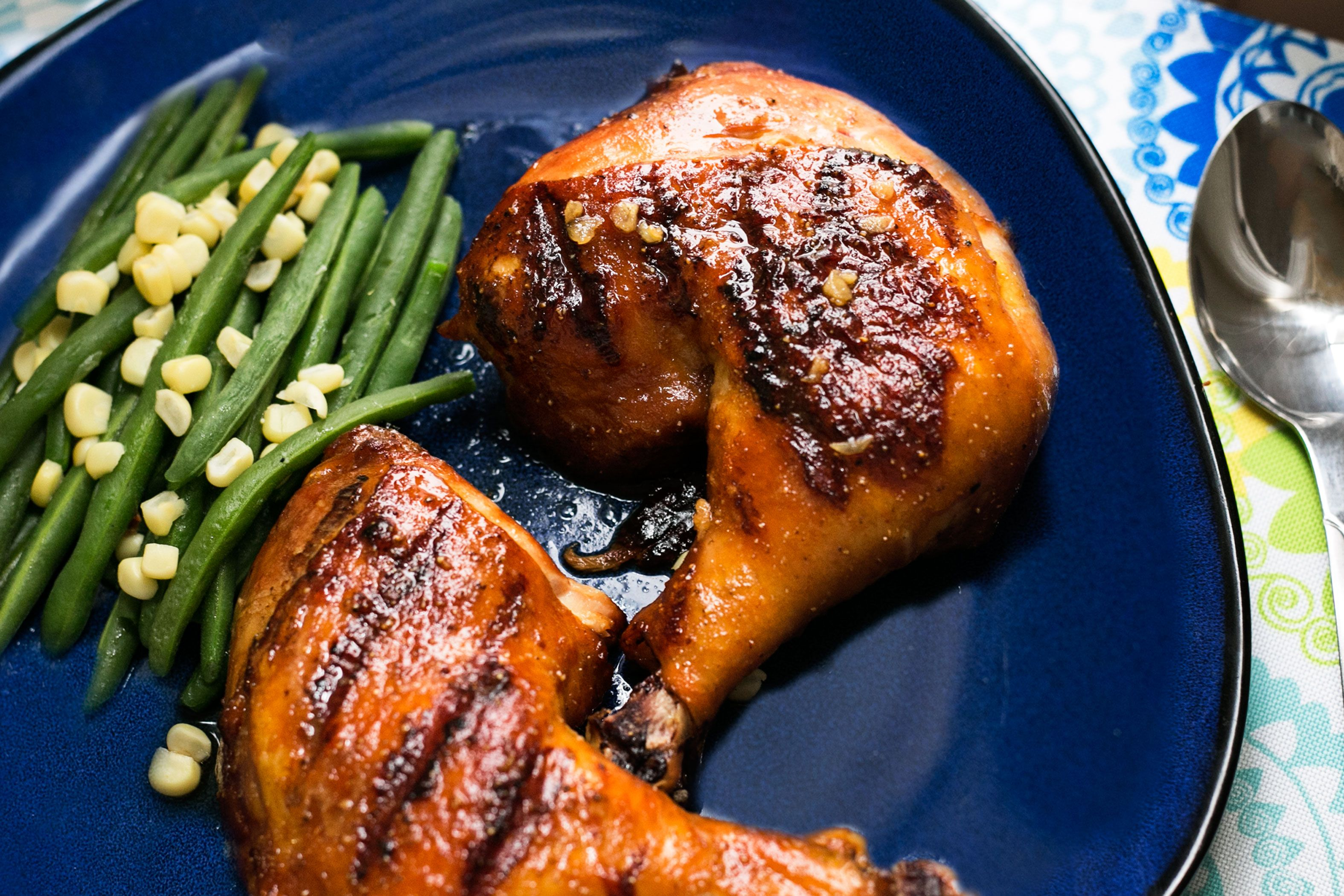 How To Grill Chicken Leg Quarters Food Network Wannabe Grilled Chicken Leg Quarters Grilled
