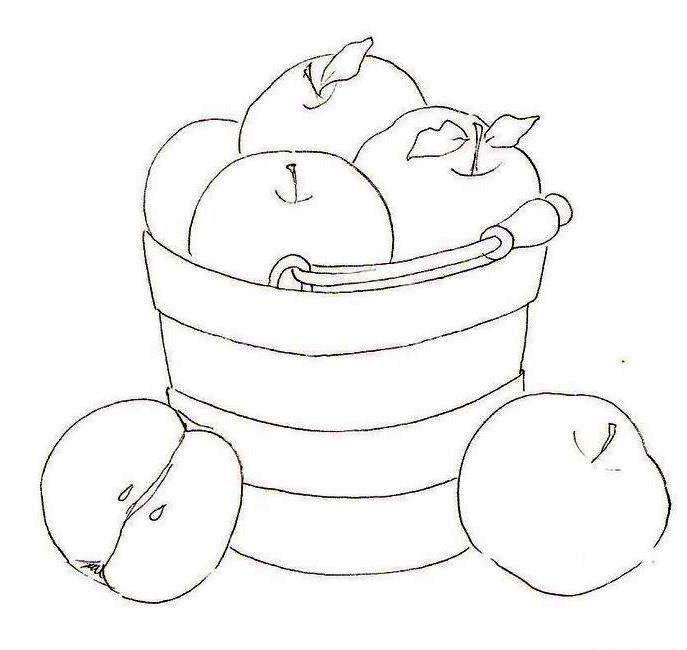 Riscos De Frutas Riscos Para Pintura Riscos Caixa De Croche