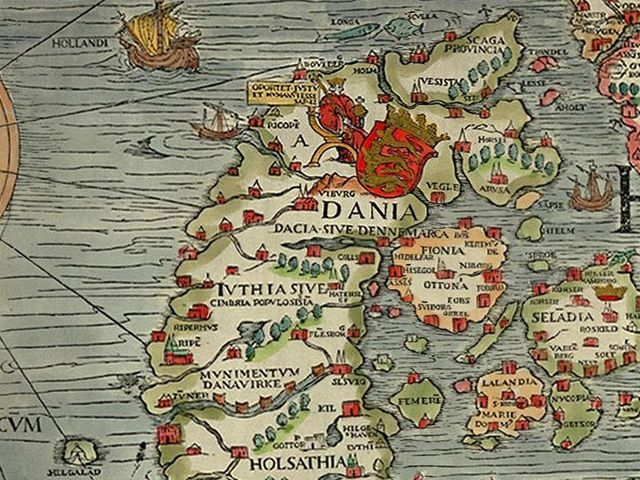Can You Identify This Place From A Medieval Map? 16th century - new world map denmark copenhagen