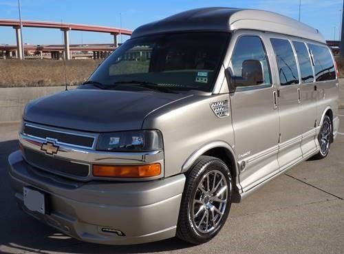 DFW Conversion Van Rentals