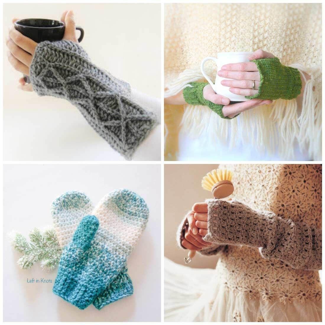 Crochet Fingerless Gloves & Mittens | Ilse Crochet | Pinterest ...