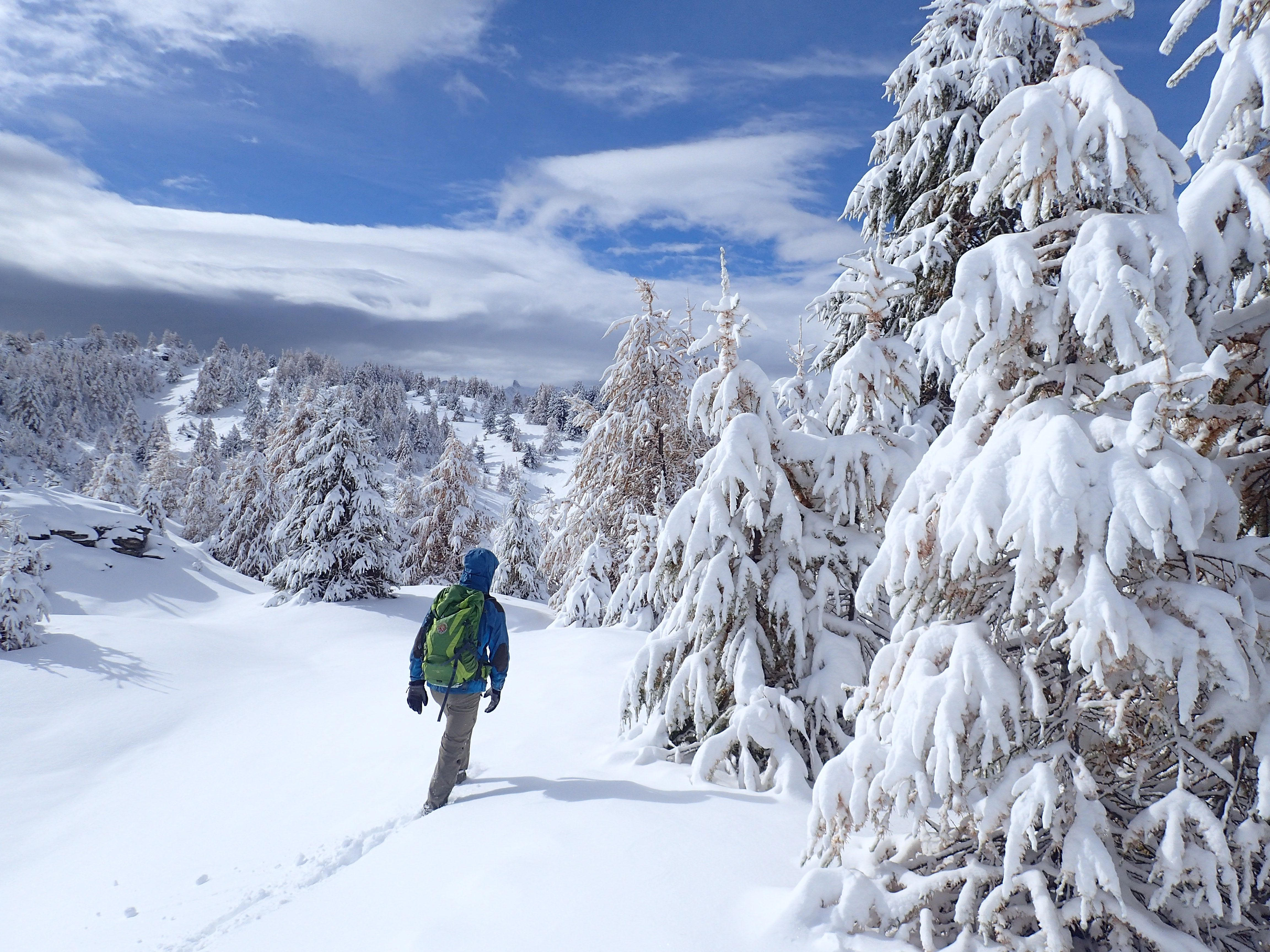 Bon Weekend Findelautomne Neige Premiereneige Snow Hiver Winter Mountains Destinationsqueyras Queyras Parcnaturelreg Queyras Randonneurs Randonnee