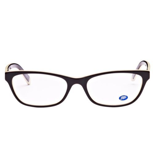 0fd59ea7770 Boots Harper Womens Black and White Glasses - Opticians - Boots ...