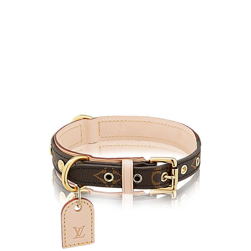 378f8e8cec5f Baxter Dog Collar MM Monogram Canvas in WOMEN s Travel collections by Louis  Vuitton