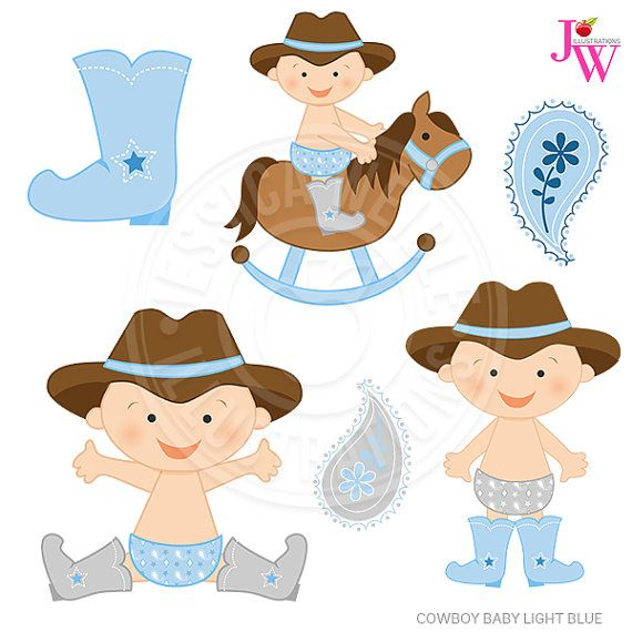 Just Cowboys Digital Clipart, Cowboy Graphics, Cowboy Clip Art ...