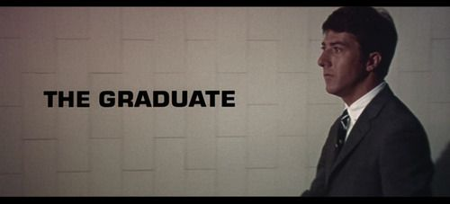 Image result for The Graduate title card