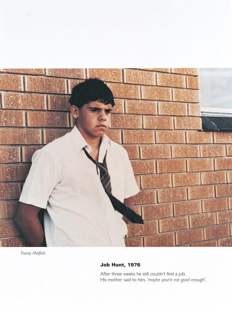 Tracey Moffatt Australia, 1960 'Job hunt, 1976′ from the
