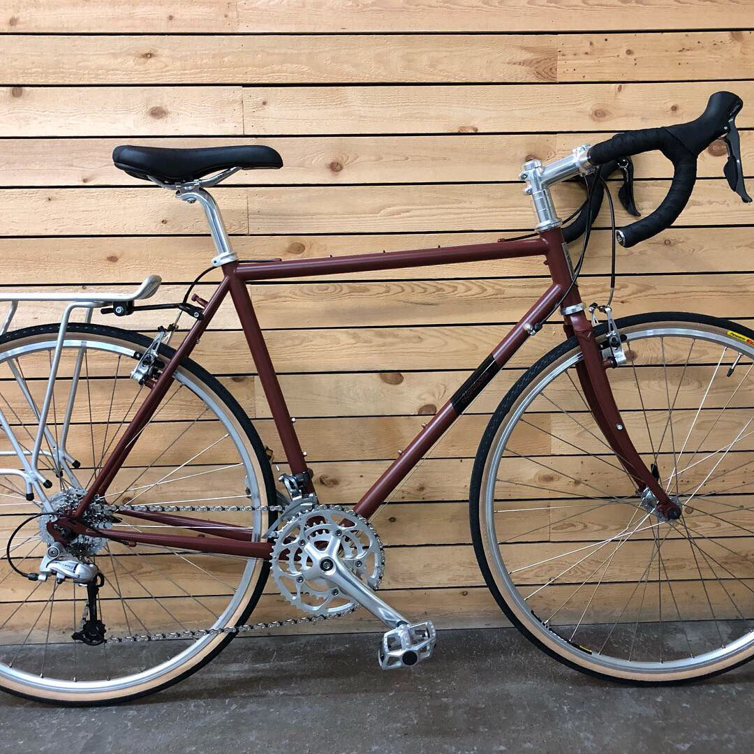 Handsome Cycles Mud Butler 700c Hammered Aluminum Antique Gold Fenders