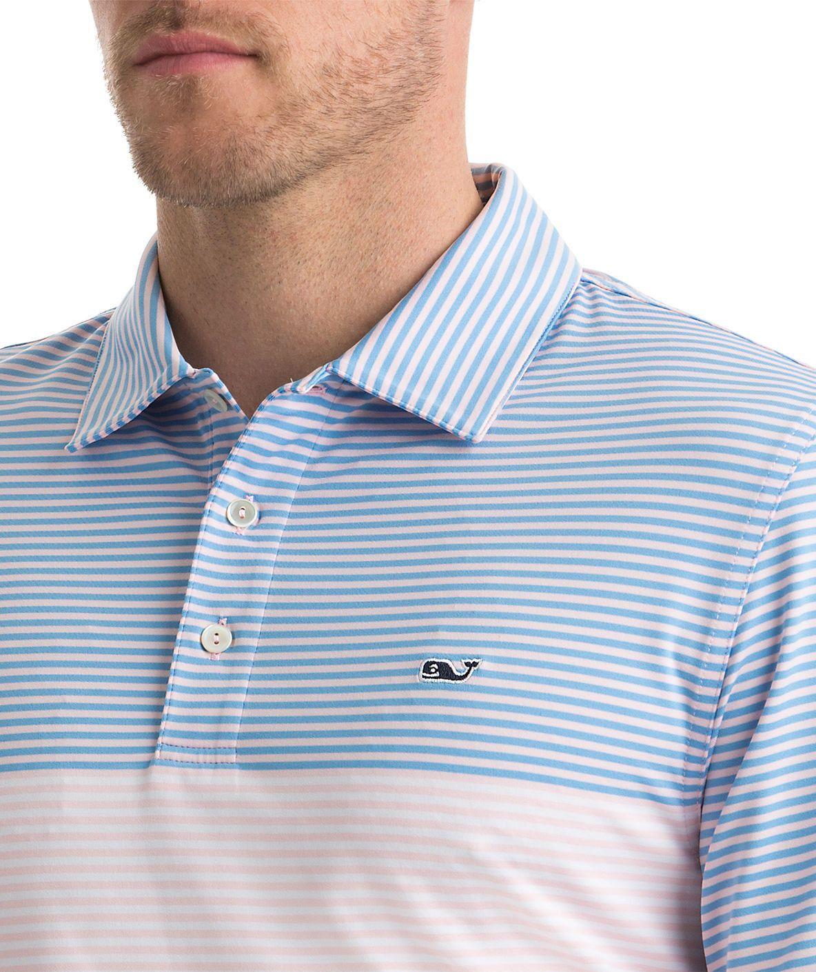 Men's Vineyard Vines Newport Stripe Polo