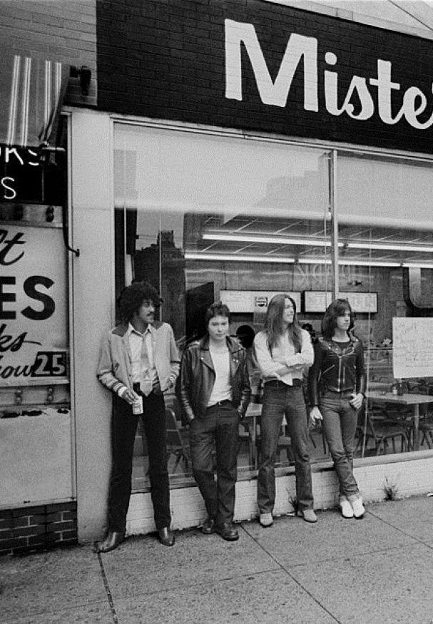 Thin Lizzy - Black Rose lineup 1979, Philadelphia  Phil