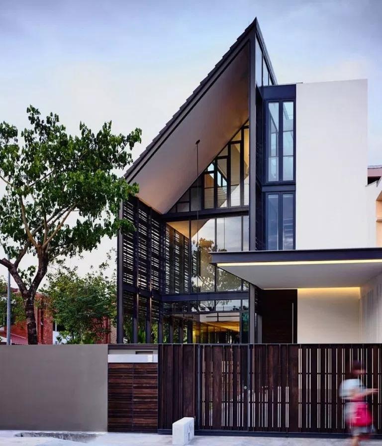 51 Inspiring Residential Architecture Building For You 14 Fieltro Net House Designs Exterior Facade House Modern Exterior