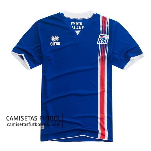 Primera camiseta de tailandia Islandia eurocopa 2016  b2cac8d619cff