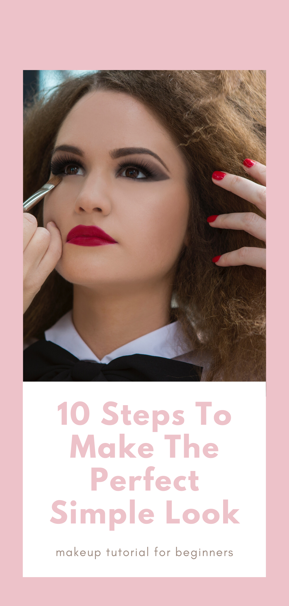 How to apply basic makeup tutorial beginners Get free