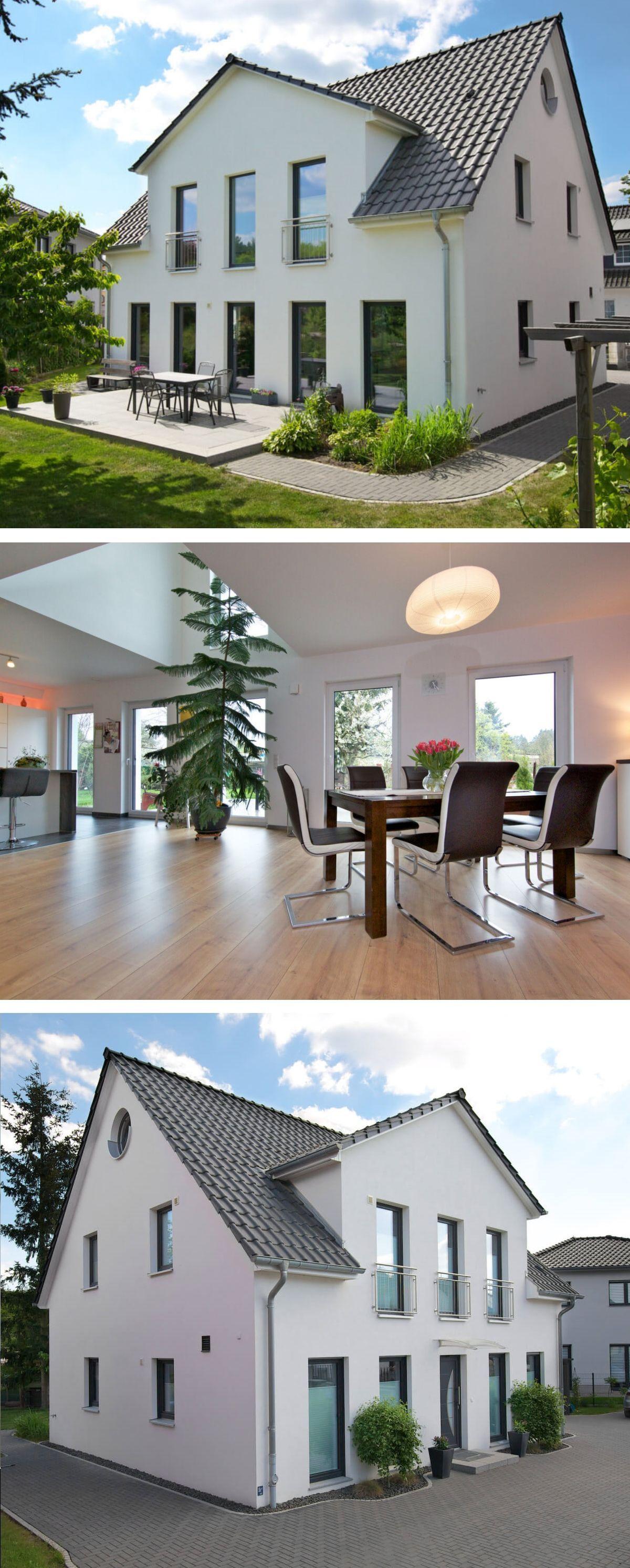 einfamilienhaus neubau modern mit satteldach architektur galerie zwerchgiebel haus bauen. Black Bedroom Furniture Sets. Home Design Ideas